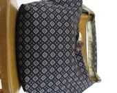 BLACK HOBO BAG - Oversized Bag - Boho Bag - Cross Shoulder Bag - Slouch Bag - Crossover Bag - Hobo Bag - Vegan Bag - Black Crossbody Bag