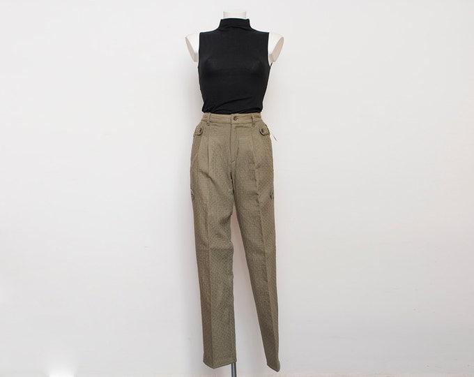 NOS Vintage 80's pants trousers  size W26