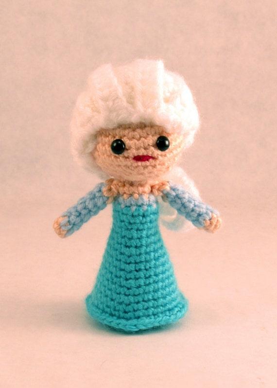Amigurumi Elsa Tarifi : Elsa Amigurumi