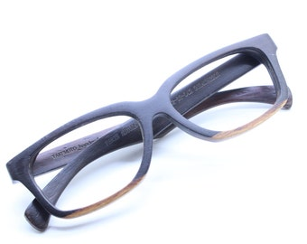 Aa Autumn Paris  Two Tone Rosewood Custom Prescription Sunglasses Galsses Only One