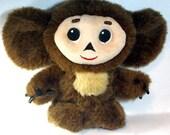 Russian Cheburashka - USSR folk doll. Sings!