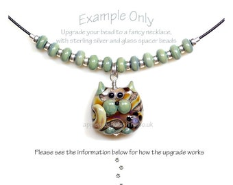 Upgrade a bead to a necklace