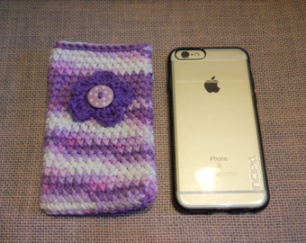 Cell Phone Case, iPhone Case, iPhone Accessories, iPhone Protection, Birthday Gift, Crochet Phone Cover