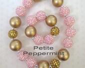 Little Girl Bubblegum Necklace, Children Necklace, Girl Chunky Necklace, Chunky Bead Necklace,Girl Bubble Gum Necklace