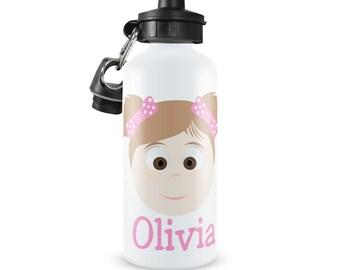Kids Personalzied Water Bottle Little Me Girl or Boy, Custom Personalized Kids Water Bottle, Personalized Kids Water Bottle, Looks Like Me