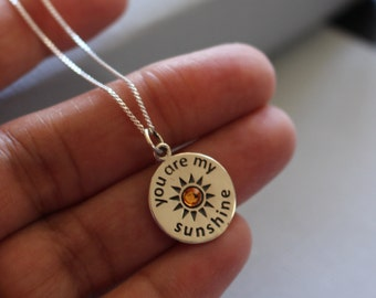 """Shop """"you are my sunshine jewelry"""" in Necklaces"""
