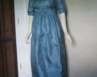 Silk Taffeta Regency Gown size 10