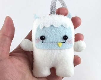 Yeti Christmas Ornament - Abominable Snowman
