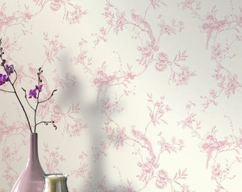 Arthouse Chinoise Wallpaper in Pink ~ 2 Rolls