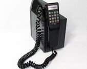 """Vintage Radio Shack Cell Phone - Mobile Phone """"State-of-the-Art in 1988"""""""