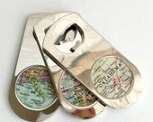 Custom Map Bottle Opener