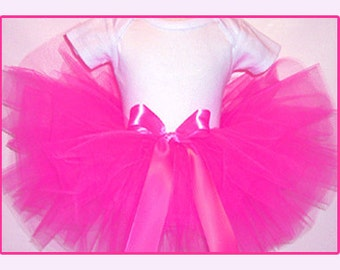 Shocking Pink Tutu, Hot Pink Tutu, Shocking Pink Toddler and Girls Tutu , Hot Pink Tutu, Shocking Pink Tutu for Babies-Girls 6