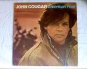 Vintage John Cougar  LP Stereo 1982 Record Album AMERICAN FOOL