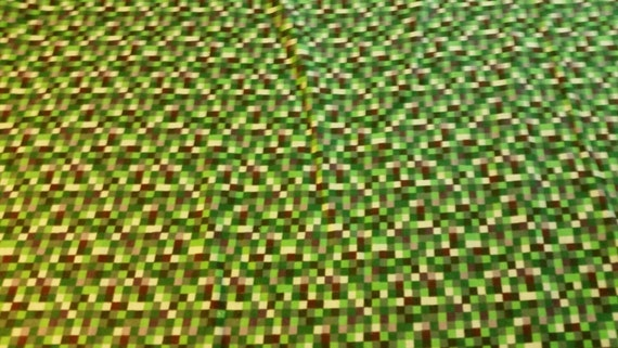 Minecraft inspired fabric 16 bit cotton flannel bty from for Minecraft fabric by the yard
