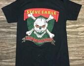 "80s Steve Earle ""Copperhead Road"" Tour tee Medium"