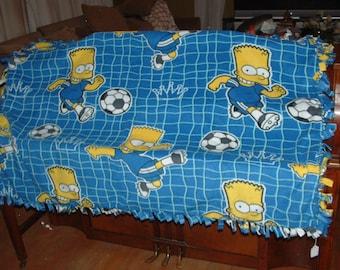 Bart Simpson Kids Blanket