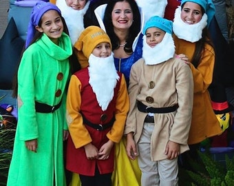 Teen and Adult Dwarf Costume from Disney's Snow White-Any Dwarf, Any Size