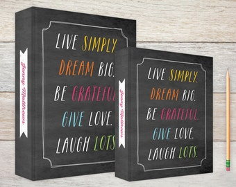3-Ring Binder Live Simply