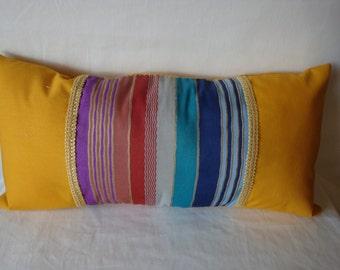 Southwestern theme decorative pillow, decorative pillow, shelf sitter pillow