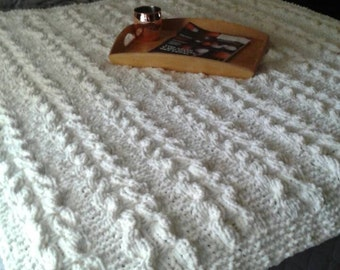 Chunky Cable Blanket