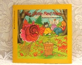 The Little Red Hen - Illustrated by Lucinda McQueen - Scholastic Paperback Children's Book - Classic Folktale