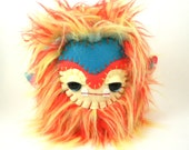 Monster Stuffed Animal - Stuffed Monster Toy - Large Plush Monster - Unique Gift - 7 inch Grump Grump