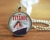 Titanic Pendant, Titanic Necklace, Titanic Jewelry, Titanic Key Ring, Titanic Lover Gift, Gift for Her,
