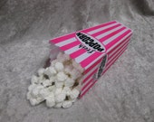 Movie Popcorn Container in Hot Pink