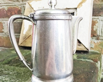 Vintage 1949 Silver Plated Teapot from Great Northern Railway