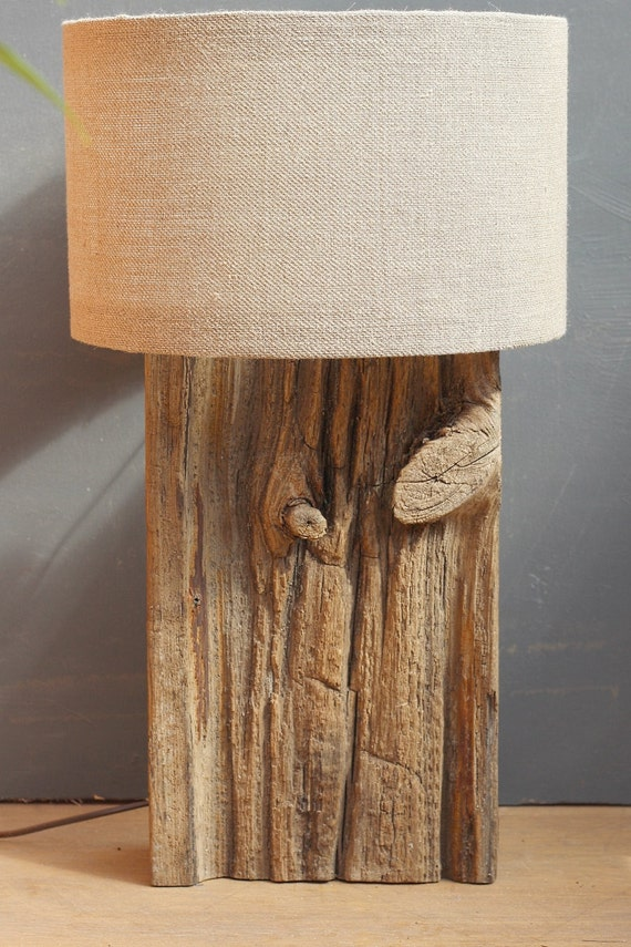 driftwood lamprustic dock wood lampdrift wood by juliasdriftwood. Black Bedroom Furniture Sets. Home Design Ideas