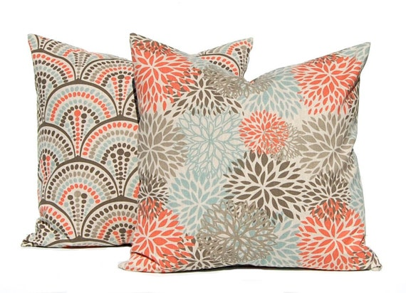 Fall Pillow Covers Throw Pillow Covers Orange Pillows