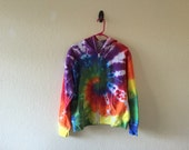 Adult size L tie dyed hoodie