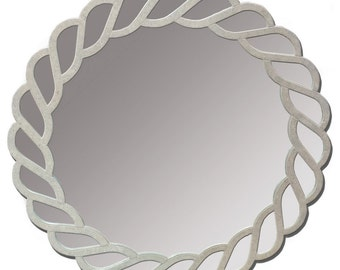 Napoli Mirror, Unique Mirror, Metal Mirror, Clay Mirror, Handmade Mirror, Mirror