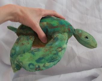 Sea Turtle plush toy art doll