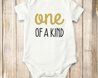 One of Kind, onesie, bodysuit, shirt, children, baby, clothing, tops