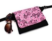 Small Fanny Pack,Bycicle Fabric Bag,Insulin Pump Pocket,Smartphone Belly Bag,Mini Waist Purse,Biker BumBag,Utility Belt Pouch,Sac Banane