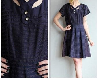 20% Sale 1950s Dress // Lady Evanna Dress // vintage 50s party dress