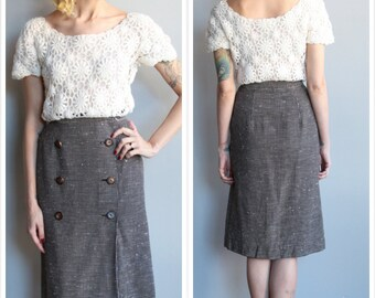 1950s Skirt // Barbara Fields by Joyce Skirt // vintage 50s dress