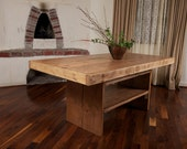 8 foot table with storage set