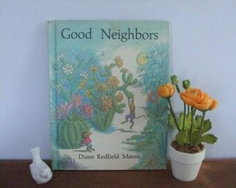 Good Neighbors by Diane Redfield Massie Vintage Weekly Reader Book