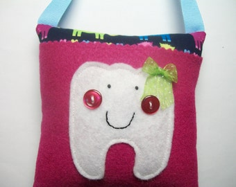 Girls Tooth Fairy Pillow Horses
