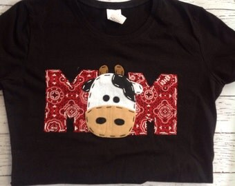 Mom barnyard birthday shirt, Mom, Dad, two, cow, 2nd,  t shirt, barn yard, farm theme, boy white