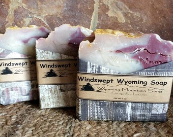 Windswept Wyoming Soap