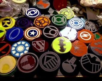 Custom Geeky Coasters