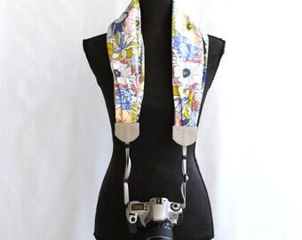 scarf camera strap easter sunday -BCSCS014