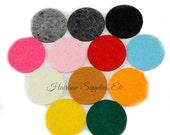 Felt Circles 1-1/2 inches - Die Cut Circles, Pre Cut Felt, Felt Backing, Craft Felt, Flower Back, Craft Felt Circles, Headband Felt