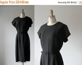 SALE vintage 1950s dress / 50s dress / Studs & Sparkles