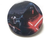 Kylo Ren & Captain Phasma Button