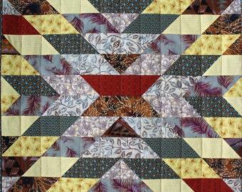 Eye Dazzler Patchwork Quilt Block Pattern