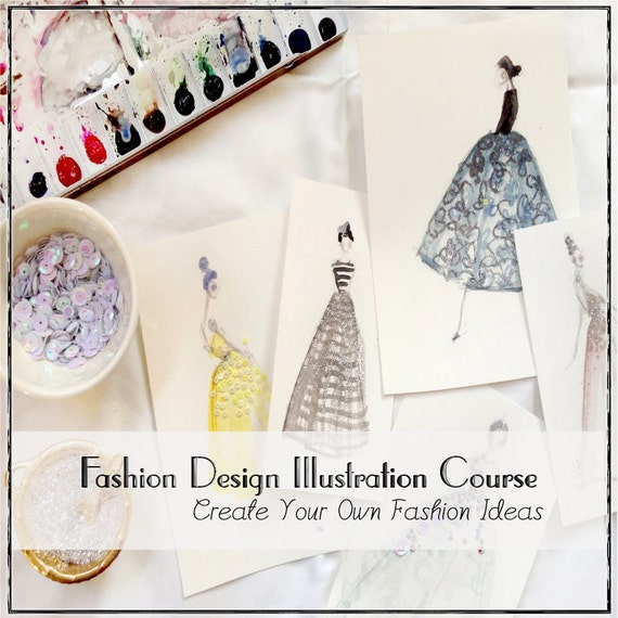 Fashion Design And Illustration Online Class Video